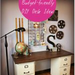 Budget-friendly DIY Desk Ideas