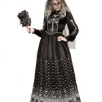gothic skeleton-brews-damenkostuem Halloween Costume skeleton-bride-costume
