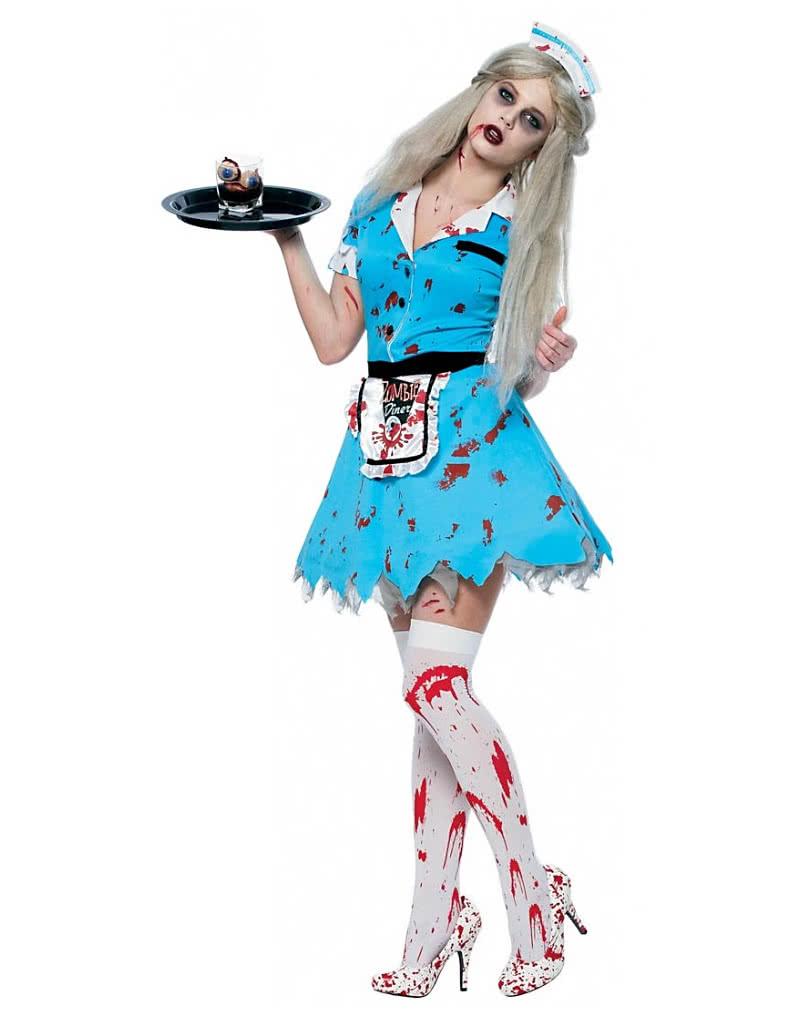 zombie waitress costume zombie costumes