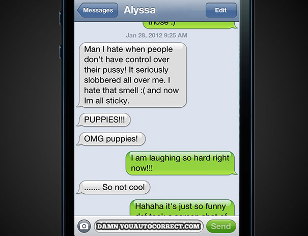 50 Funniest AutoCorrects Of 2012