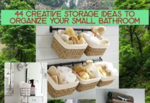44 Creative Storage Ideas to Organize Your Small Bathroom. rinawatt.com