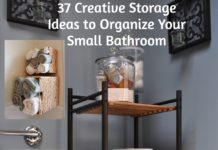 37 Creative Storage Ideas to Organize Your Small Bathroom. rinawatt.com