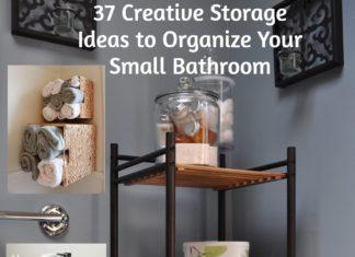 37 Creative Storage Ideas to Organize Your Small Bathroom. rinawatt.com