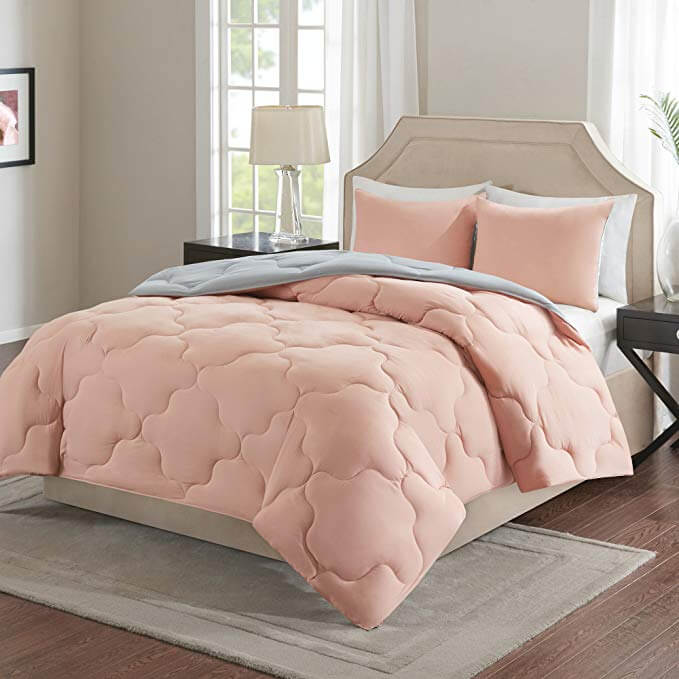 Fluffy and Fun Reversible Quilted Comforter
