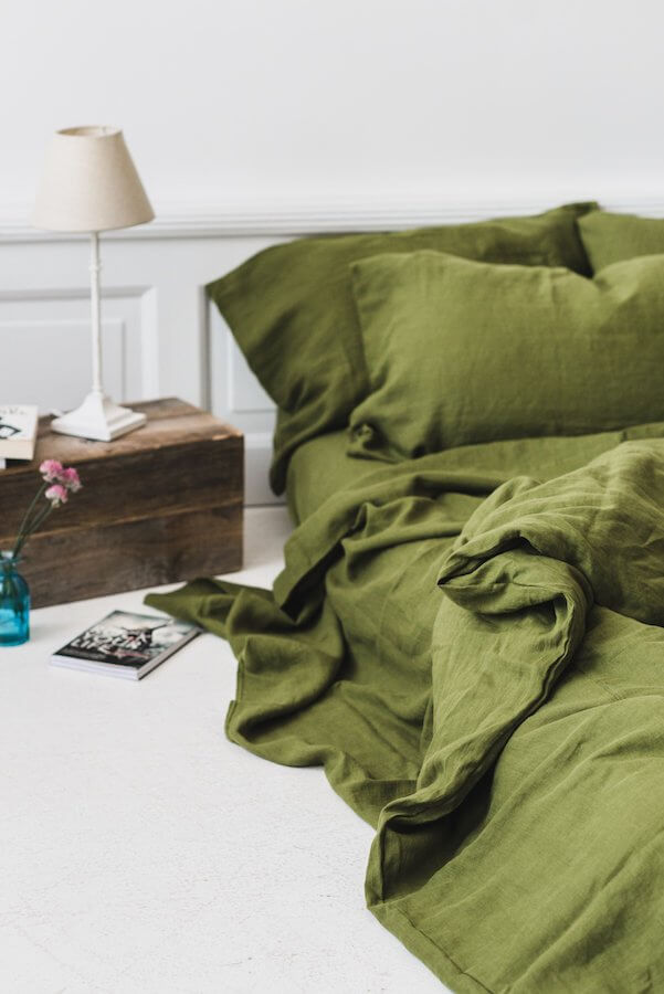 Single-Colored Envelope-Style Duvet Cover